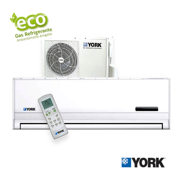 Split Pared YORK Fríosolo - R-410A completo