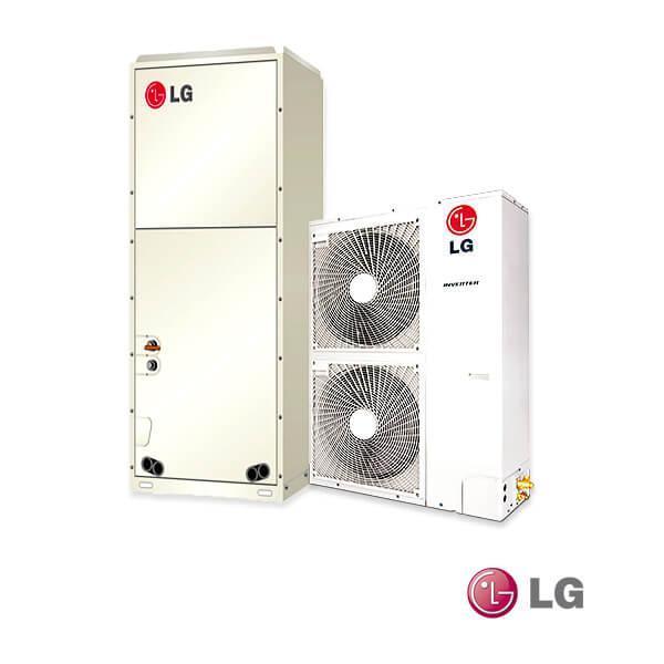 aire acondicionado split ducto LG